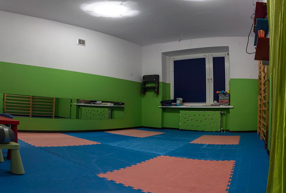 Sala w przedszkolu Mambaleu