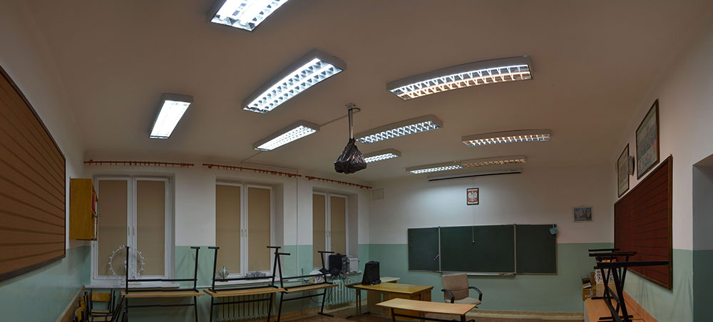 Klasa w szkole w Brzeźnie
