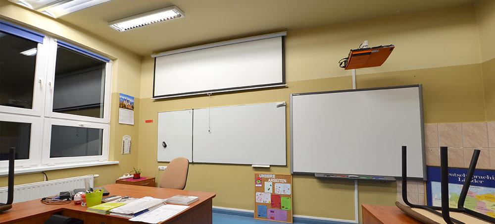 Klasa w szkole w Resku
