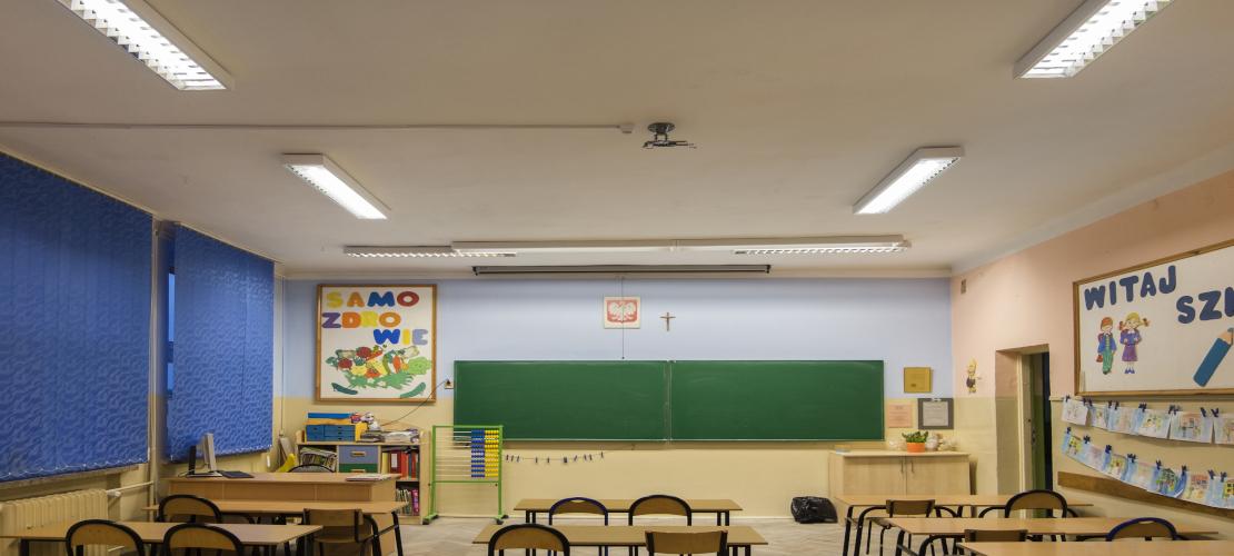 Sala w Szkole w Złocieńcu