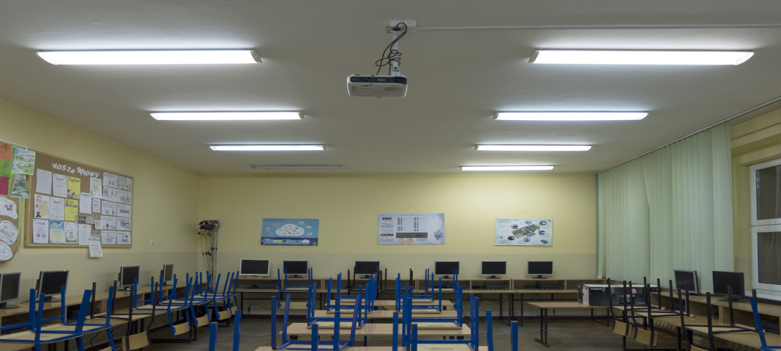 Sala komputerowa w Szkole w Złocieńcu