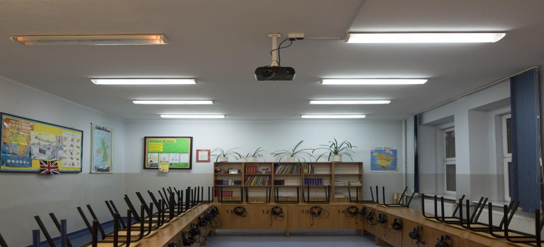 Sala językowa w Szkole w Złocieńcu