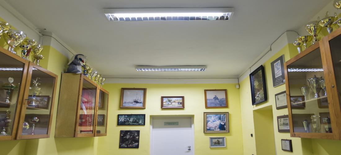 Sala wystawowa w Szkole w Złocieńcu