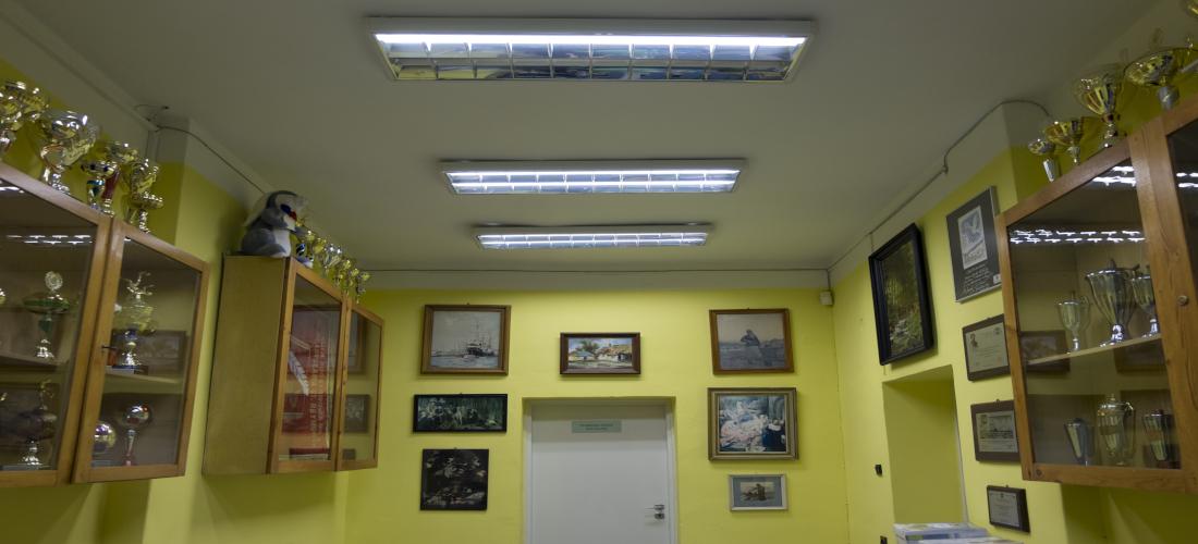 Sala wystawa w Szkole w Złocieńcu